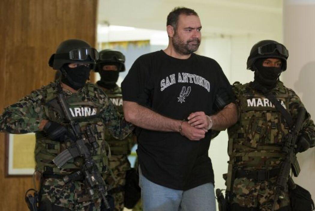 Al momento de su detención, el narco se encontraba con su familia.