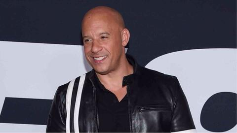 Vin Diesel llegó a la premier de The Fate of the Furious en Nueva York