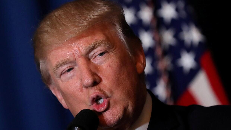 La desaprobación de Donald Trump en EEUU es del 53%, según una encuesta...