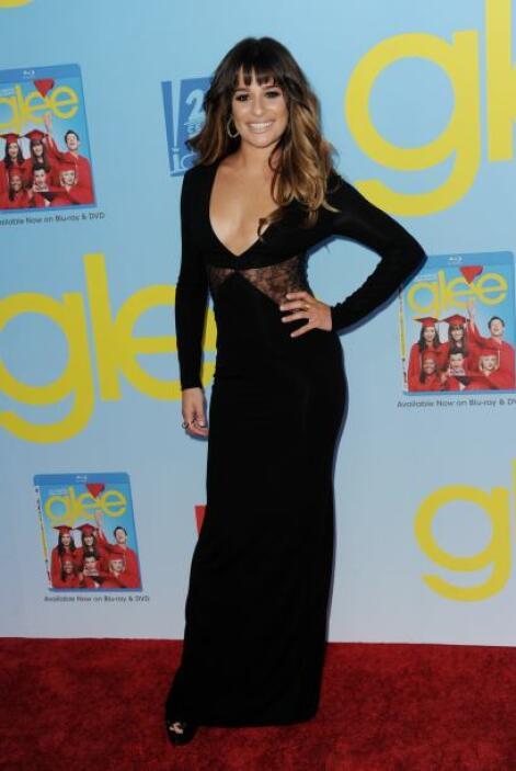"""31. Lea Michele  La talentosa protagonista de """"Glee"""".  Vota aquí por los..."""
