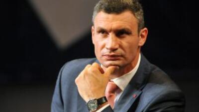 Vitaly Klitschko se lanzará como candidato a la presidencia de Ucrania.