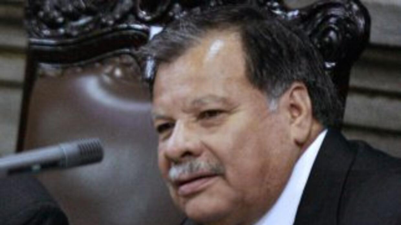 La Fiscalía de Guatemala acusó formalmente al ex presidente del Congreso...