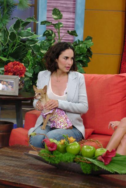 Ana confesó que sintió miedo al conocer la historia de Griselda Blanco.