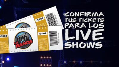 Tickets para los shows en vivo de La Banda