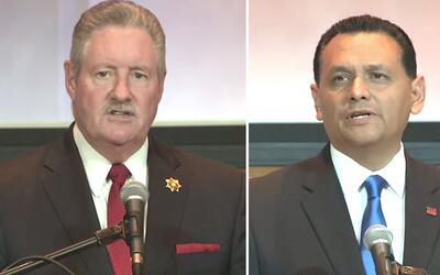 Las diferencias que separan a los candidatos al puesto de alguacil del c...