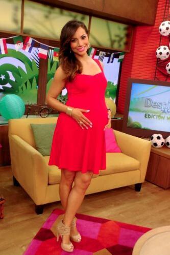 ¡Comienza julio! Satcha está lista para recibir a bebé en sólo unos días.