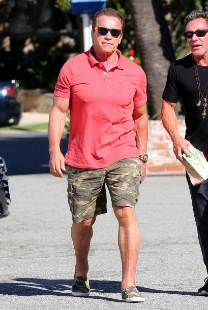 Por cierto, después de que Arnold bajó de su auto, pudimos...