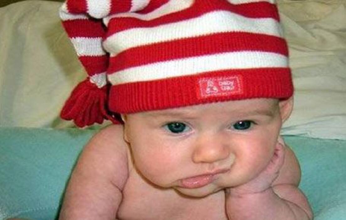 O como este bebito... Mira aquí los videos más chismosos.