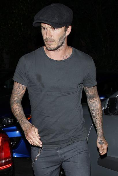 Por si alguien tenía dudas de los modales de Beckham basta ver estas fot...