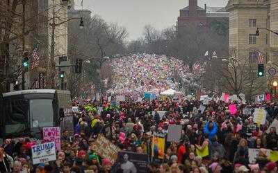 La marcha de las mujeres abarcó más de 60 países