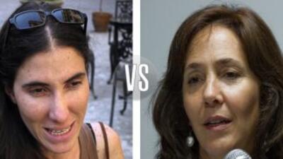 Yoani Sánchez vs Mariela Castro.