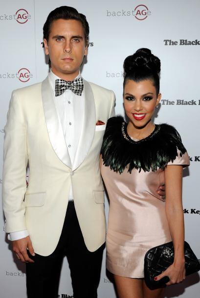 Kourtney tiene una relación con el modelo Scott Disick.