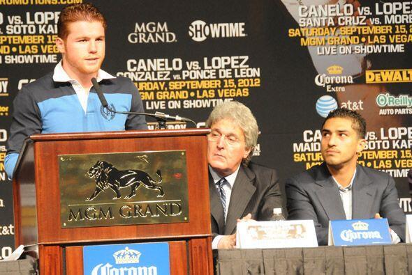 Pese a su favoritismo, Alvarez no se confía y dijo haber hecho una gran...