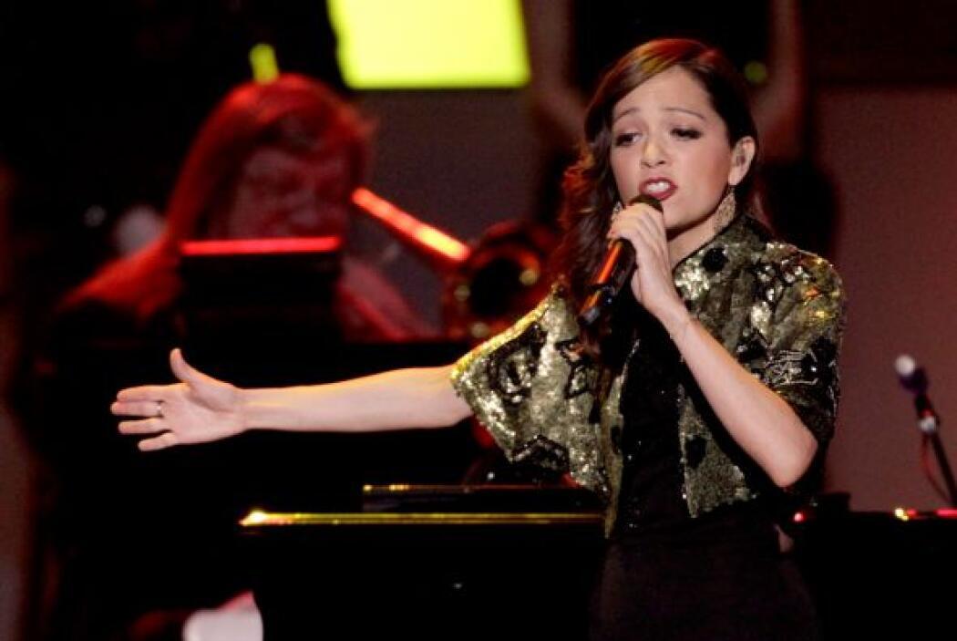 La intérprete de 'Ella es bonita' se lució como las grandes en Las Vegas.