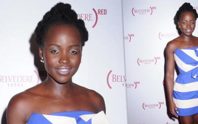 A Lupita Nyong'o la apasiona crear oportunidades para su comunidad