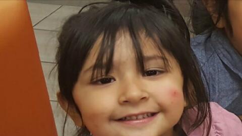 La niña María José Ordaz Chavarría ten&iacut...