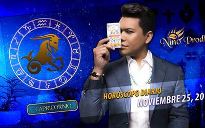 Niño Prodigio – Capricornio 30 de Noviembre, 2016