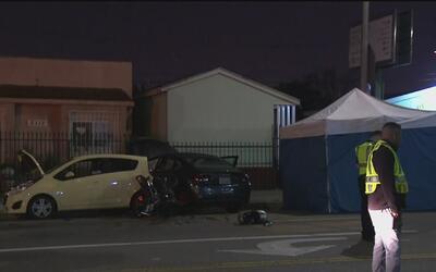 Una pareja hispana muere tras sufrir un accidente en motocicleta en el s...