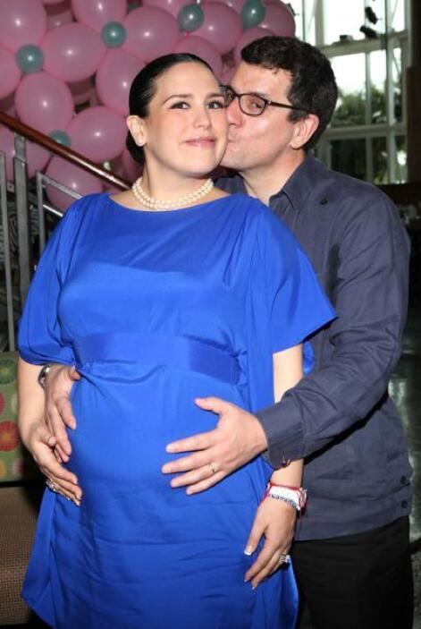 La Vale y su esposo, Otto Padron, tuvieron a su primer hijo hace dos años.