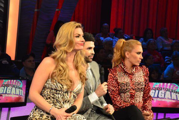 La decisión estaba tomada por los jueces: Tatiana, Jomari y Ximena...