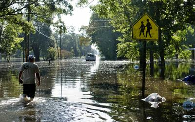 Inundaciones Louisiana