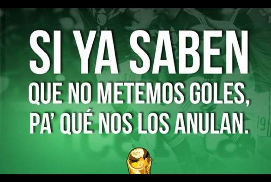 #UnOdioEternoA...Que a México siempre le roben en el Mundial.