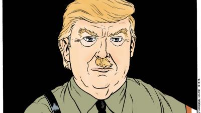 Caricatura de Matt Bors para Fusion