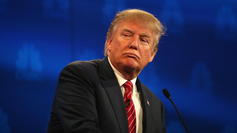Trump sostuvo sus misma ideas sobre inmigración, pero con menos estridencia