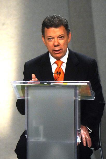 Por su parte, el mandatario de Colombia, Juan Manuel Santos, quien asumi...