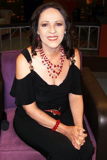Nora Velásquez, interpreta a 'Chabelita' en la Casa de la risa.