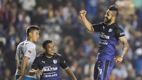 Querétaro venció 3-2 a Cruz Azul