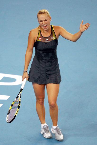 Dos bellezas del tenis, Caroline Wozniacki y Ana Ivanovic, se enfrentaro...