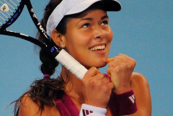 La hermosísima tenista de Serbia Ana Mucho se especulo de la falta de co...