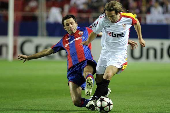 El otro encuentro que se disputó fue entre Sevilla y el CSKA Moscú.