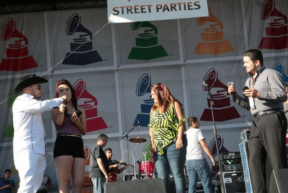 Latin Grammy Street Party Chicago 2013