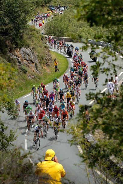 La etapa se disputó disputada entre Limoux y Foix sobre un trayecto de 1...