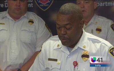 Revelan datos del servicio fúnebre del bombero caído Scott Deem