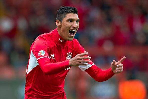 Jordan Silva, el lateral de Toluca despuntó el torneo pasado con...