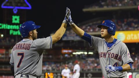 Los Mets fijaron un récord de la franquicia con ocho jonrones.