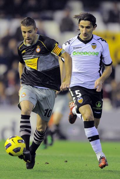 Espanyol insistía en busca del empate.