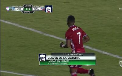 Uyy!! Carlos Armando Gruezo dispara y para el portero