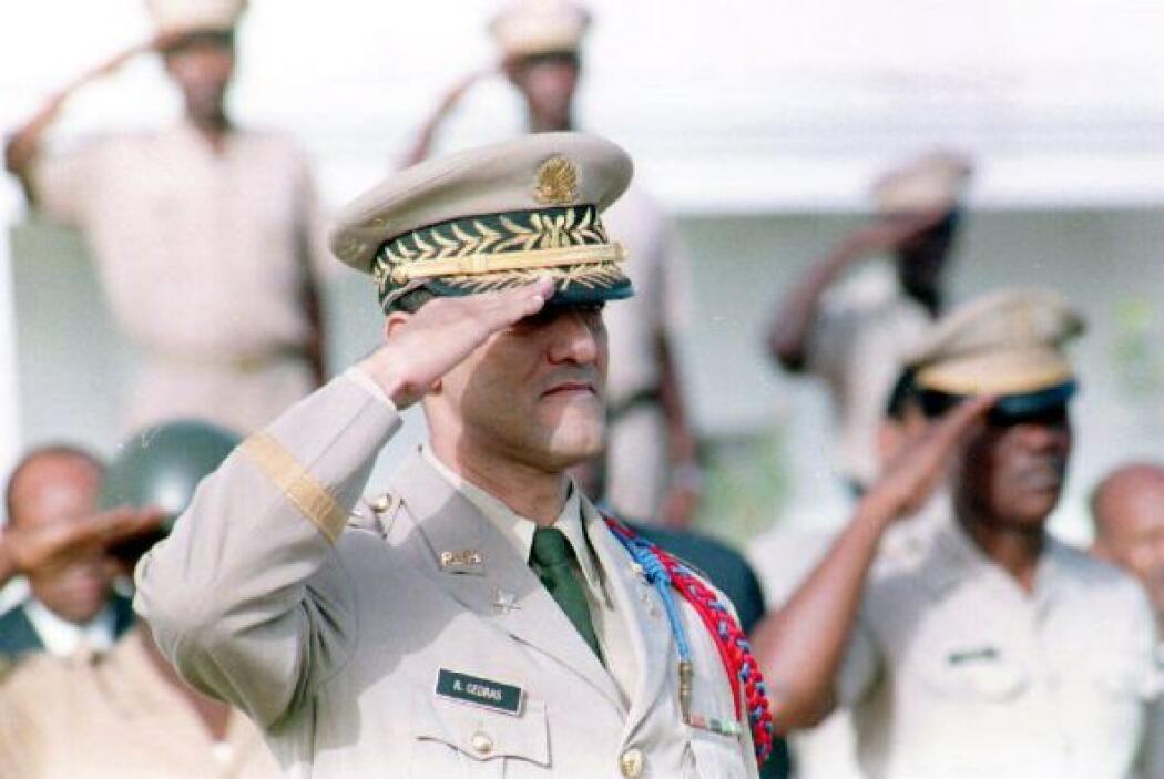 Raoul Cedras, ex general golpista de Haití  Asilado también en Panamá.