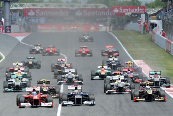 Luego de la sanción a Lewis Hamilton, la 'pole position' fue para...