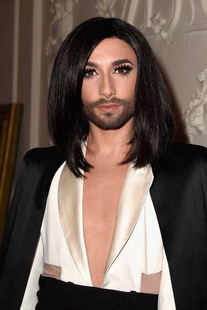 La peculiar modelo y cantante volvió a cautivar a todos.