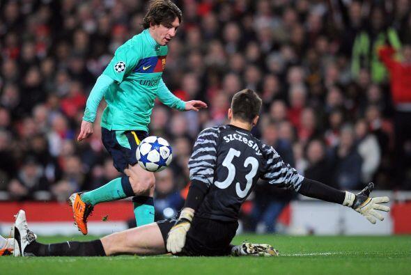 Y si no lo creen pregúntenle a Messi, que falló una opción mano a mano c...
