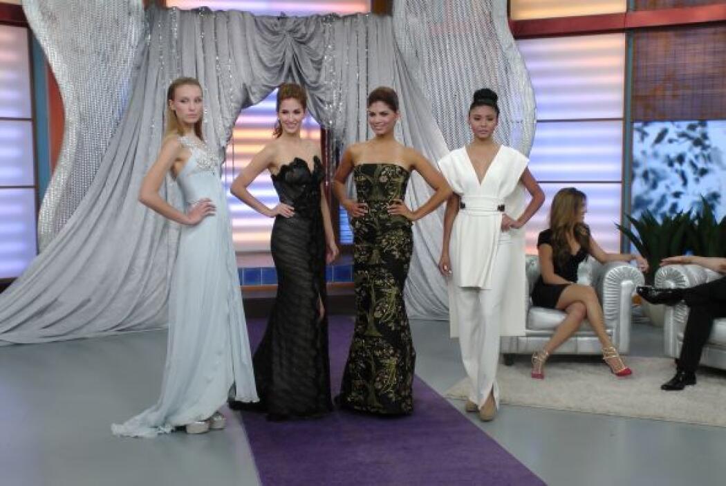 ¿Cuál de estos cuatro vestidos elegirías?