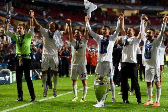 El Madrid es el primer en equipo en llegar a la decena de 'Orejonas'/