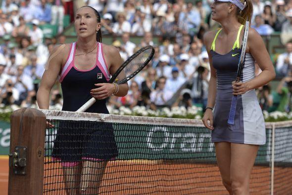 Derrotó por 0-6, 6-3, 6-3 a la serbia Jelena Jankovic.