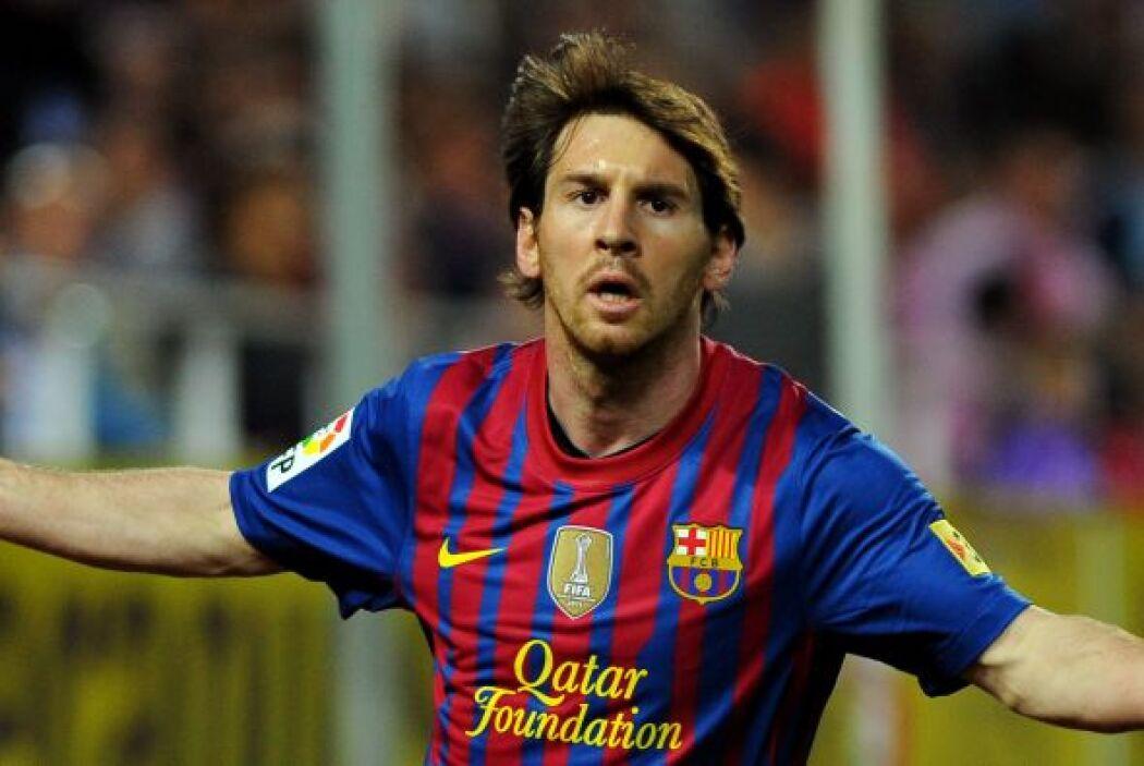 LIONEL MESSI- El delantero del FC Barcelona se coronó como el futbolista...