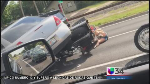 Furia al volante provoca tiroteos, insultos raciales y atropellos